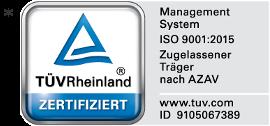 SSA Zertifizierung TÜV